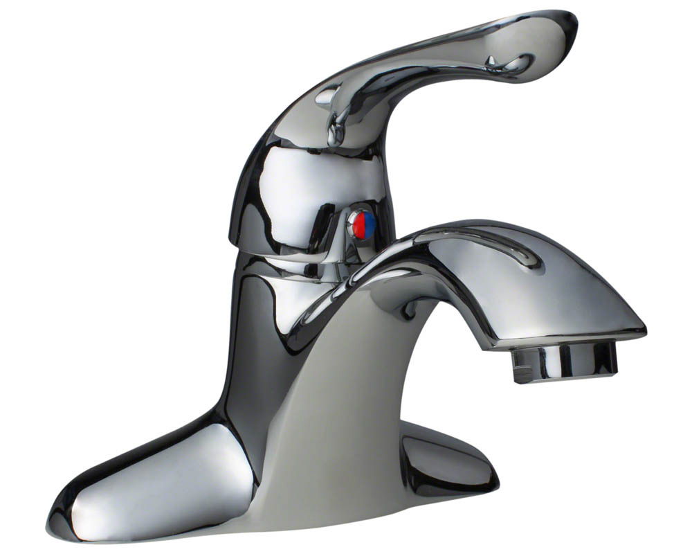 701-C Chrome Single Handle Lavatory Faucet
