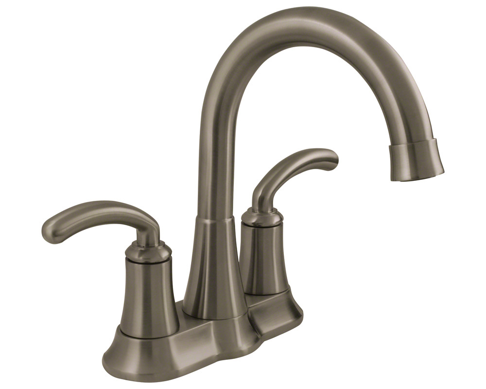 7042-BN Brushed Nickel Two Handle Lavatory Faucet