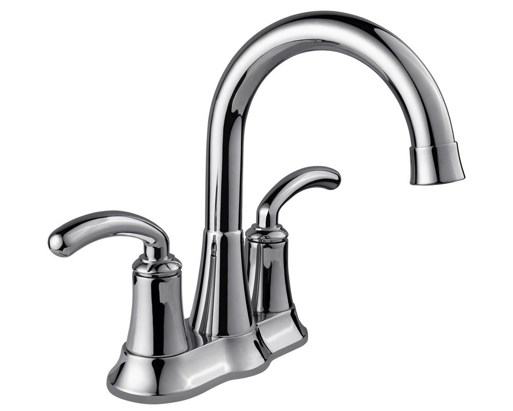 7042-C Chrome Two Handle Lavatory Faucet