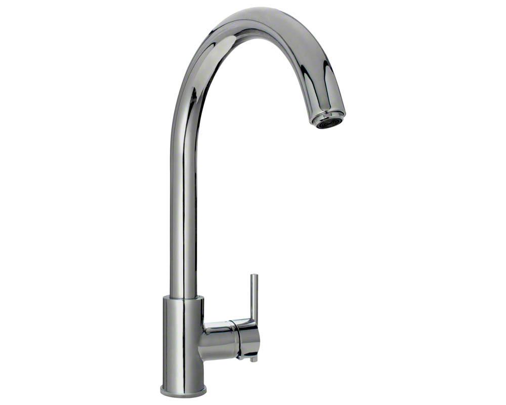 711-C Chrome Single Handle Kitchen Faucet