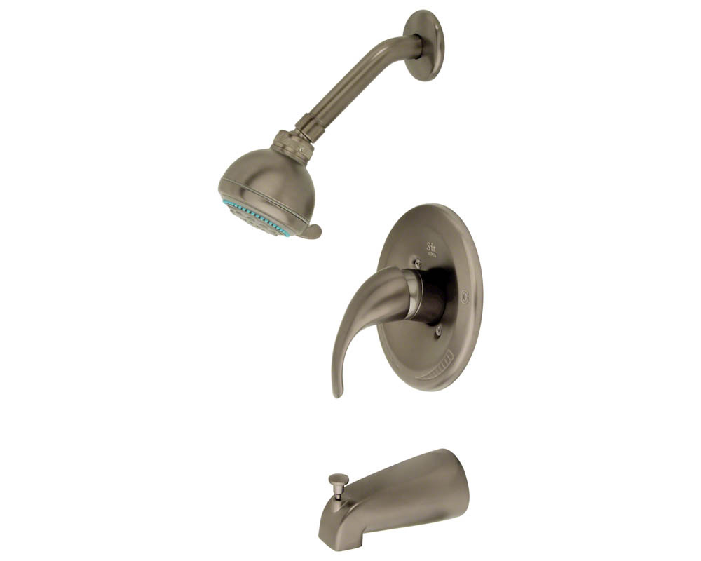 717-BN Brushed Nickel 3 Piece Shower Set