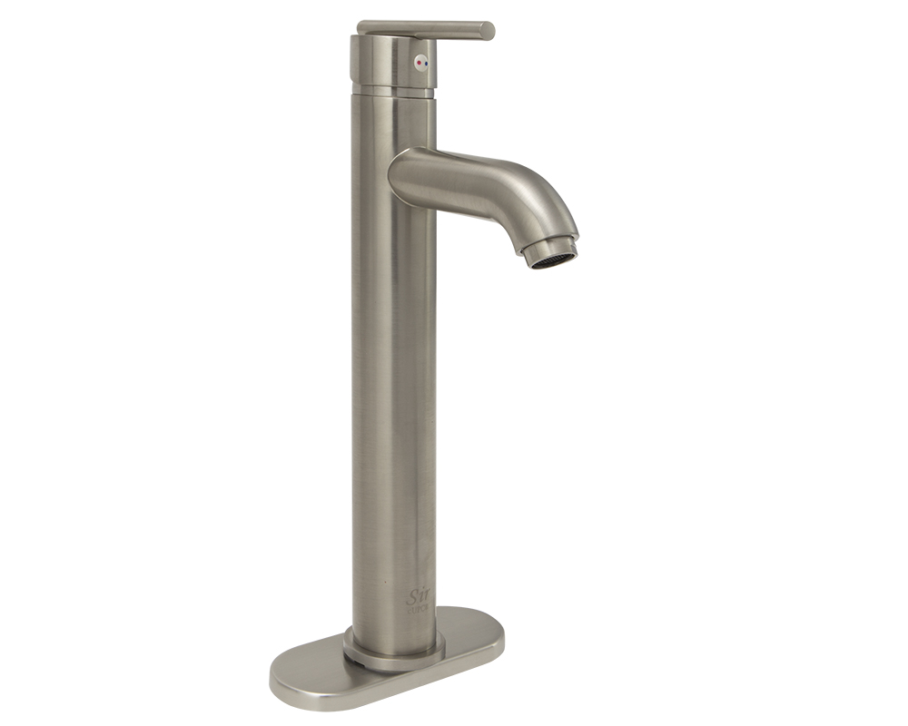 718-BN Brushed Nickel Vessel Lavatory Faucet