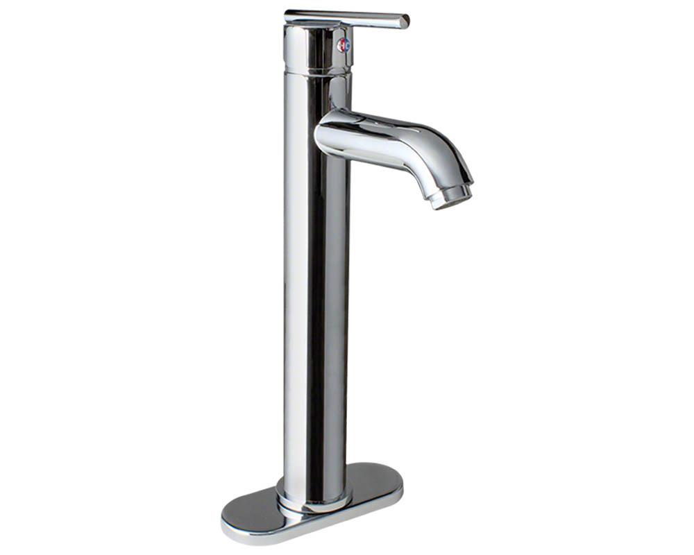 718-C Chrome Vessel Lavatory Faucet