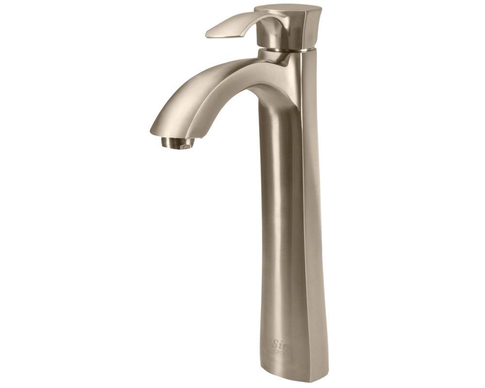 726-BN Brushed Nickel Vessel Faucet