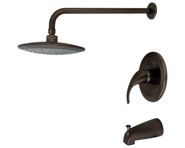 750-ORB Oil Rubbed Bronze 3 Piece Rain Head Shower Set