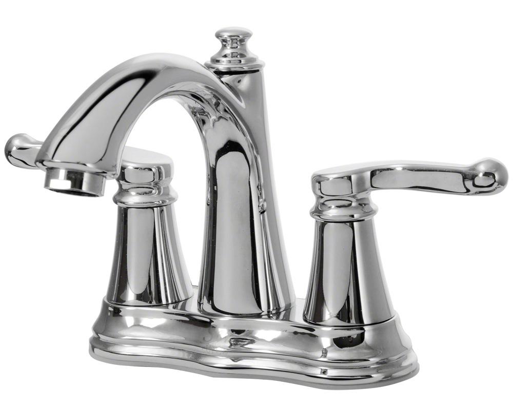 754-C Chrome Widespread Lavatory Faucet