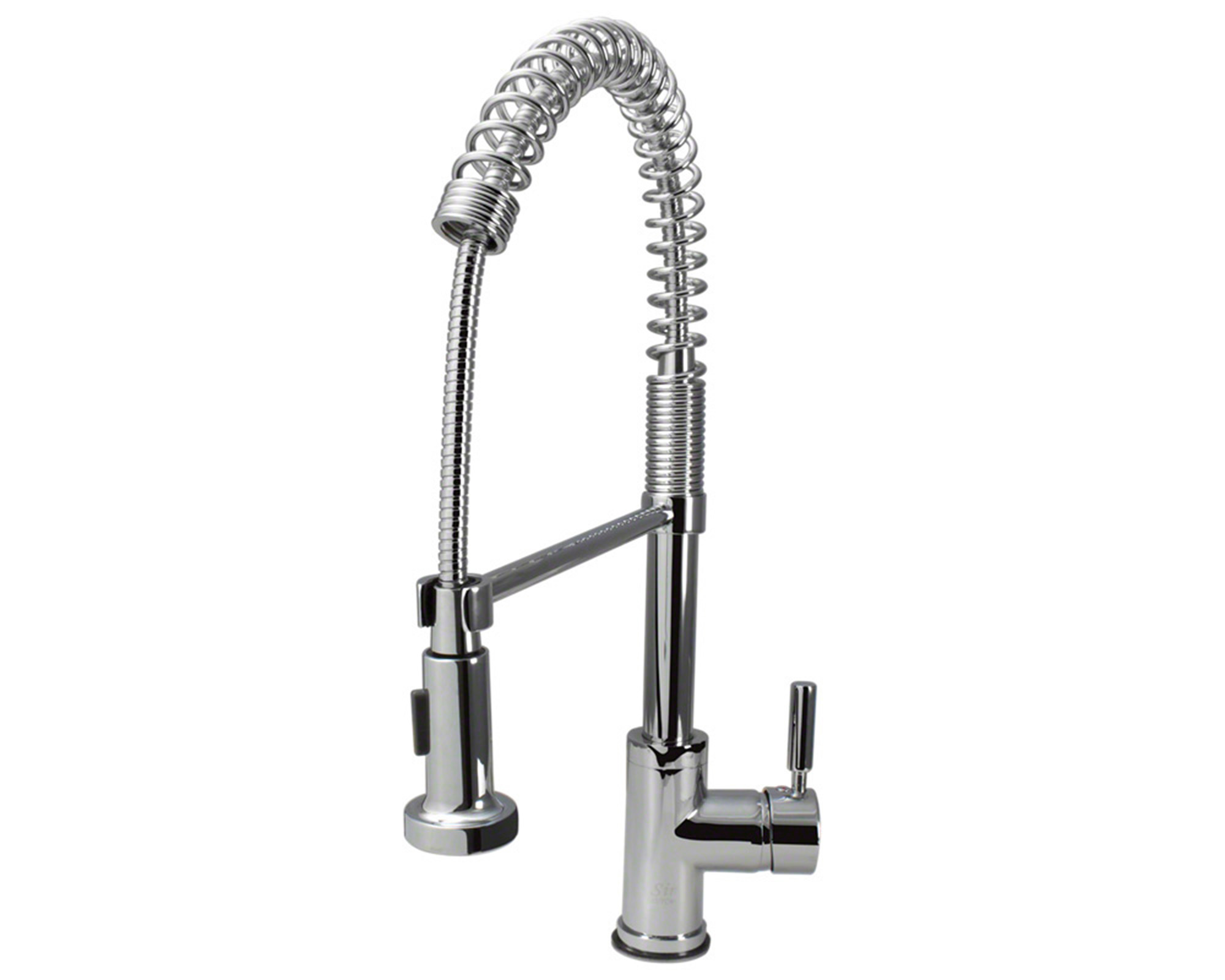 766-C Chrome Spring Spout Kitchen Faucet