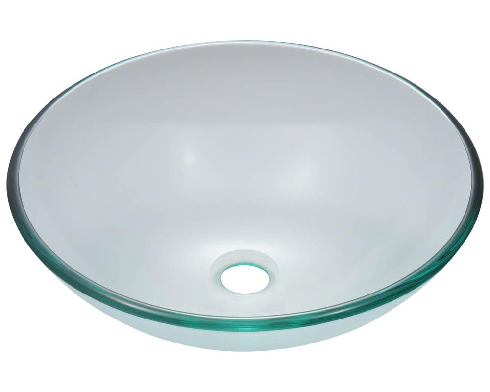 Polaris P106 Crystal Glass Vessel Sink