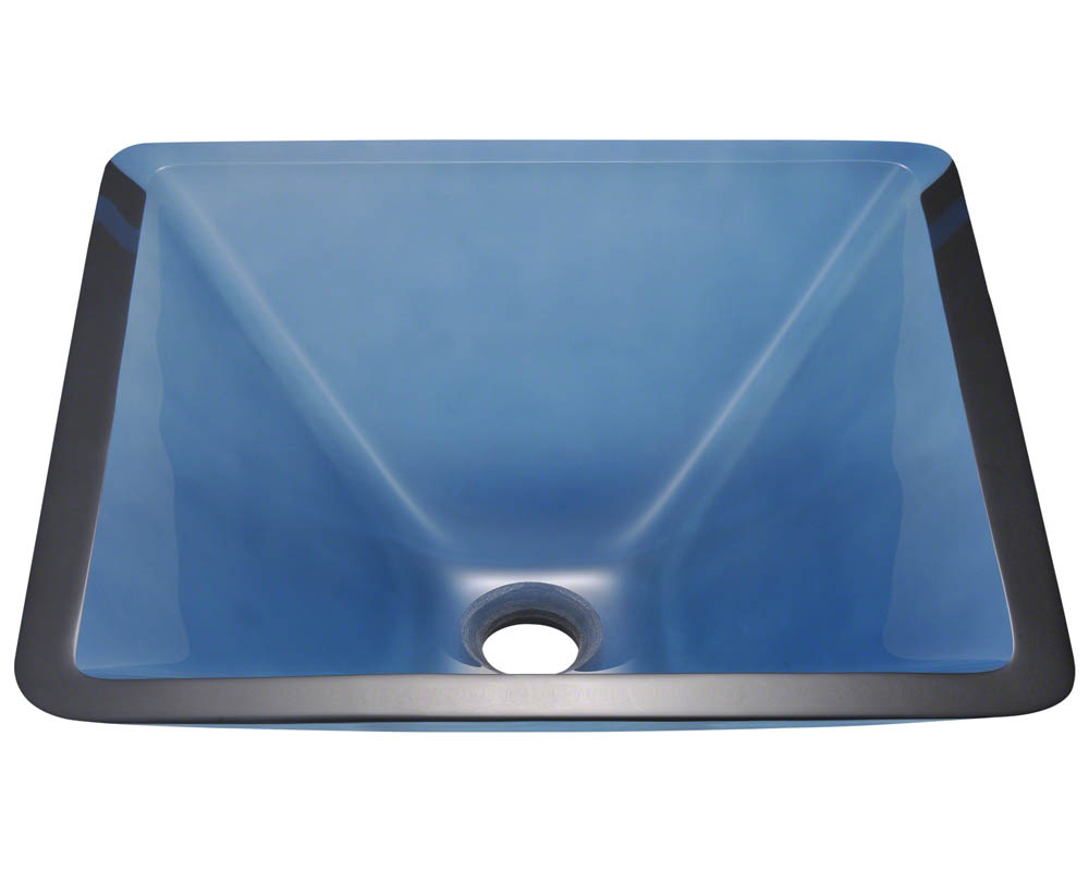 Polaris P306 Aqua Coloured Glass Vessel Sink