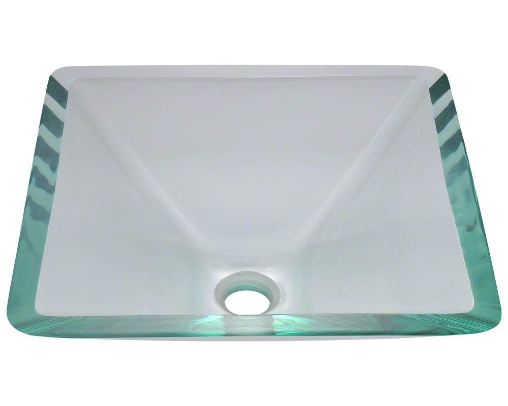 Polaris P306 Crystal Glass Vessel Sink