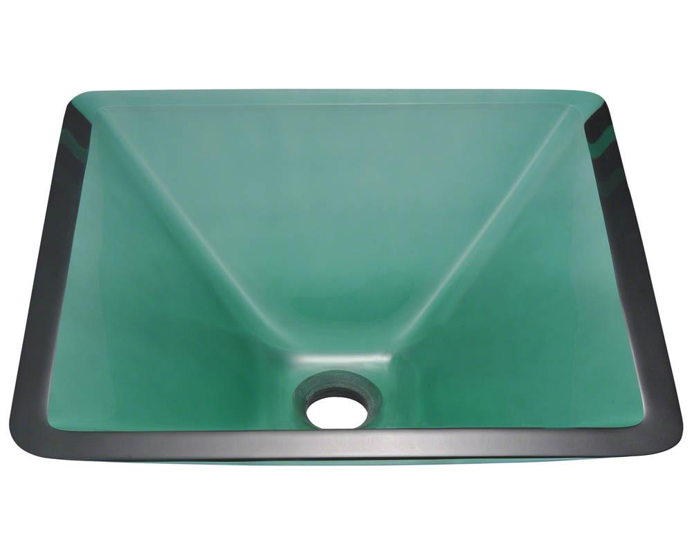 Polaris P306 Emerald Coloured Glass Vessel Sink