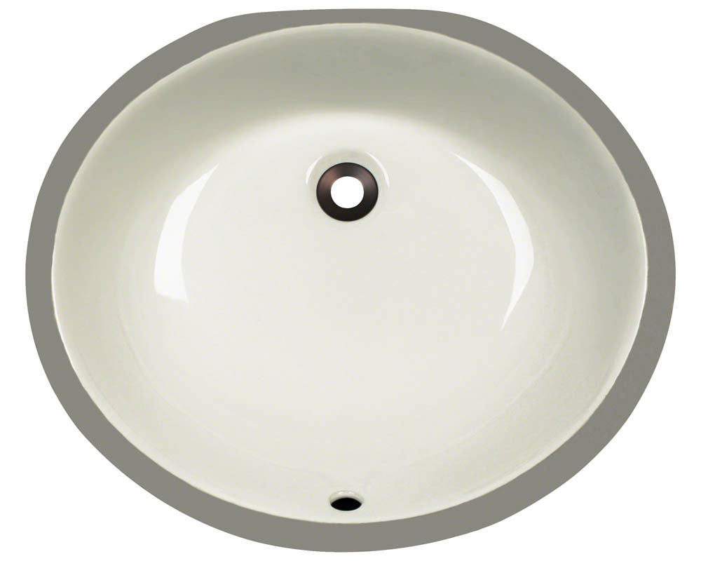 Polaris PUPM-b Bisque Porcelain Bathroom Sink