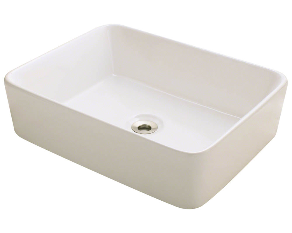 Polaris P041V-b Bisque Porcelain Vessel Sink