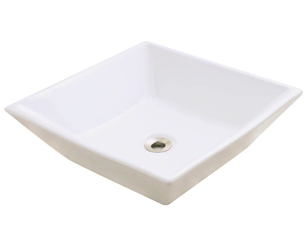 Polaris P071V-b Bisque Porcelain Vessel Sink