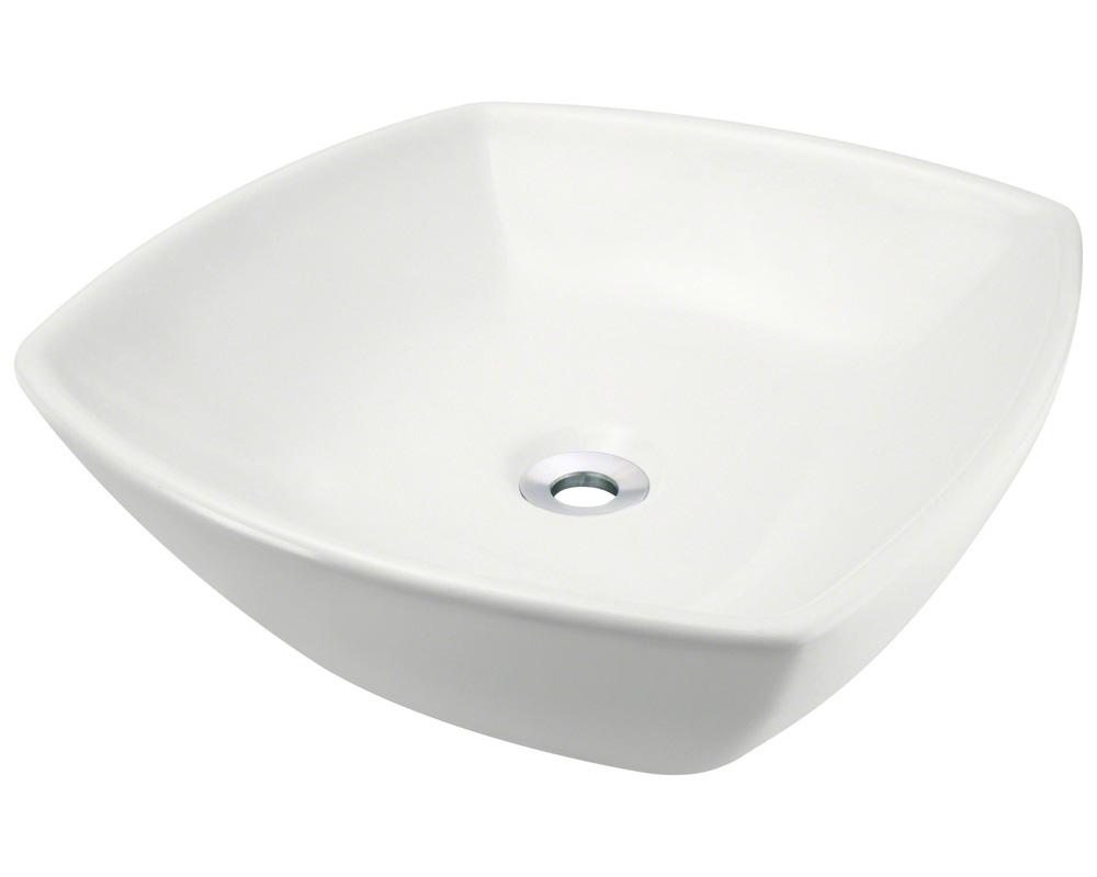 Polaris P2081-b Bisque Porcelain Vessel Sink