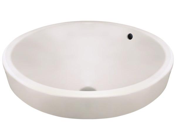 Polaris P28122V-b Bisque Porcelain Vessel Lavatory Sink