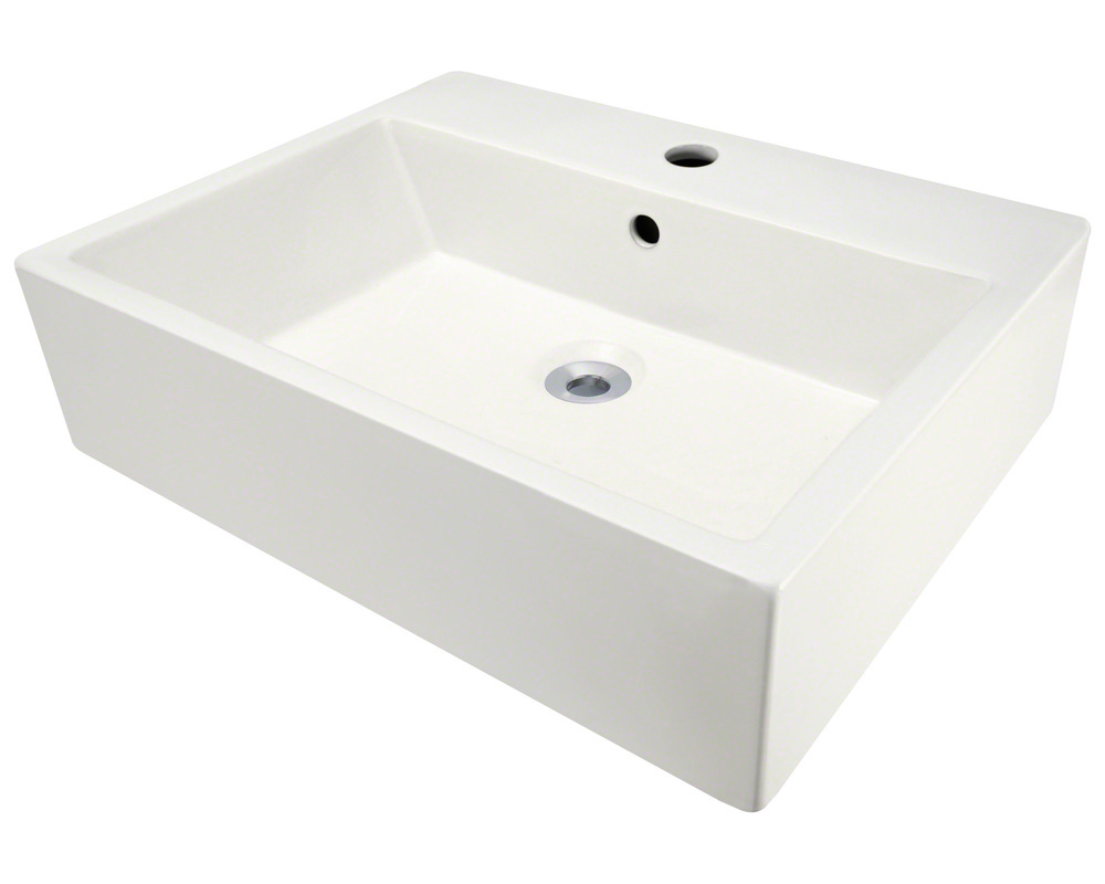 Polaris P2052V-b Bisque Porcelain Vessel Sink