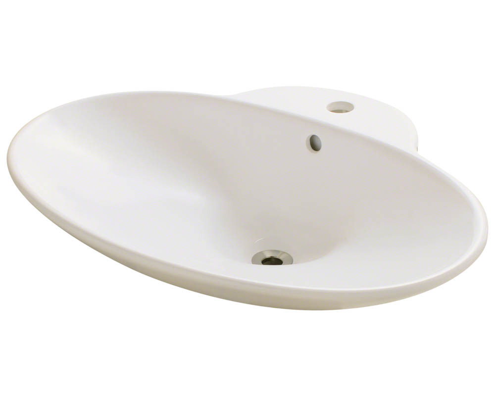 Polaris P062V-b Bisque Porcelain Vessel Sink