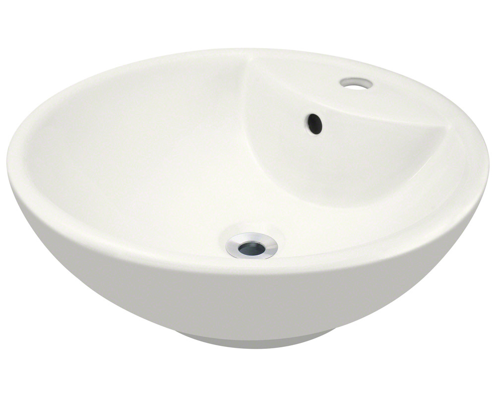 Polaris P2072V-b Bisque Porcelain Vessel Sink