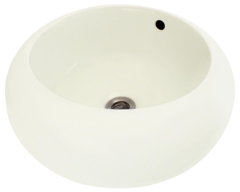 Polaris P2082V-b Bisque Porcelain Vessel Sink