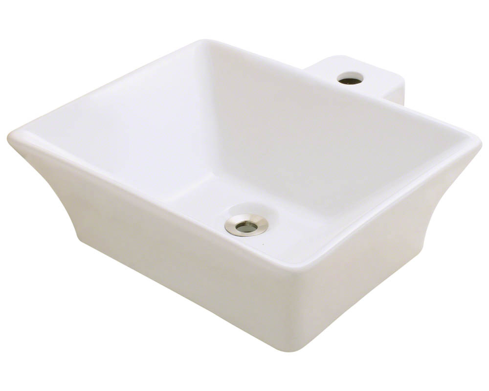 Polaris P092V-b Bisque Porcelain Vessel Sink