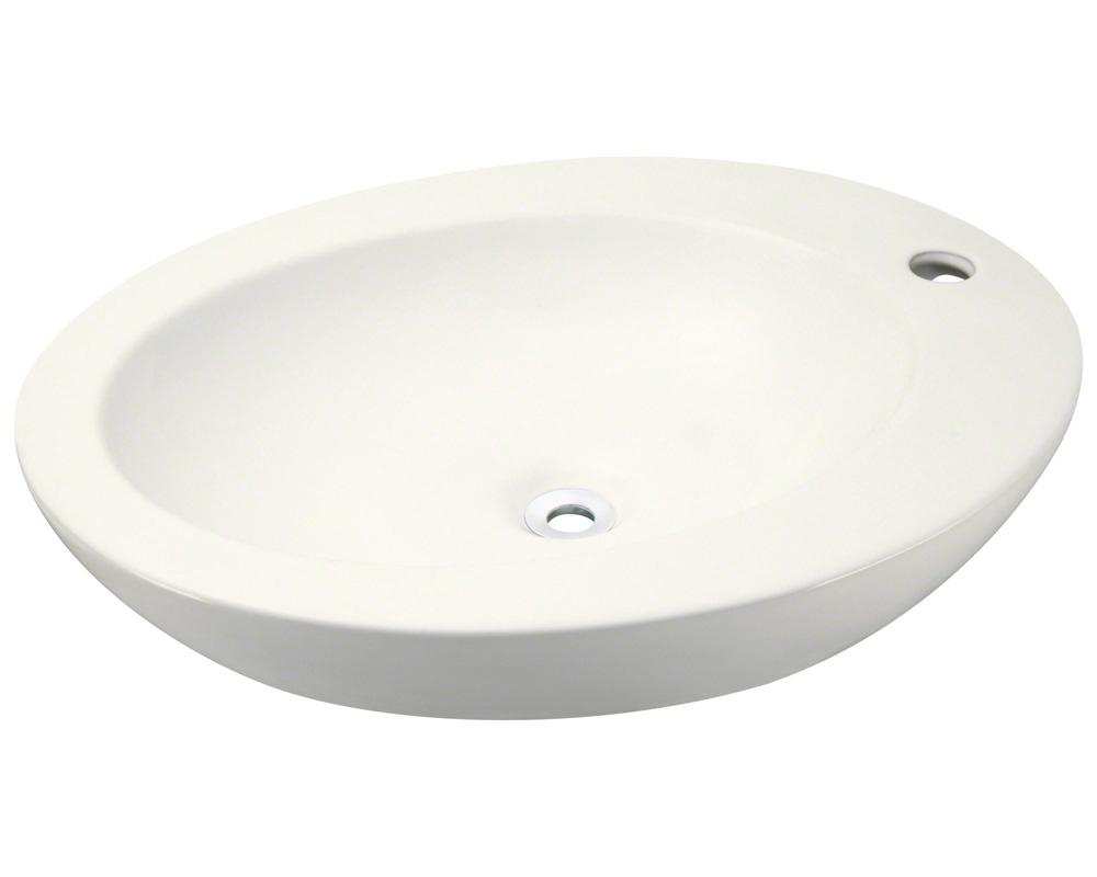 Polaris P2023V-b Bisque Porcelain Vessel Sink