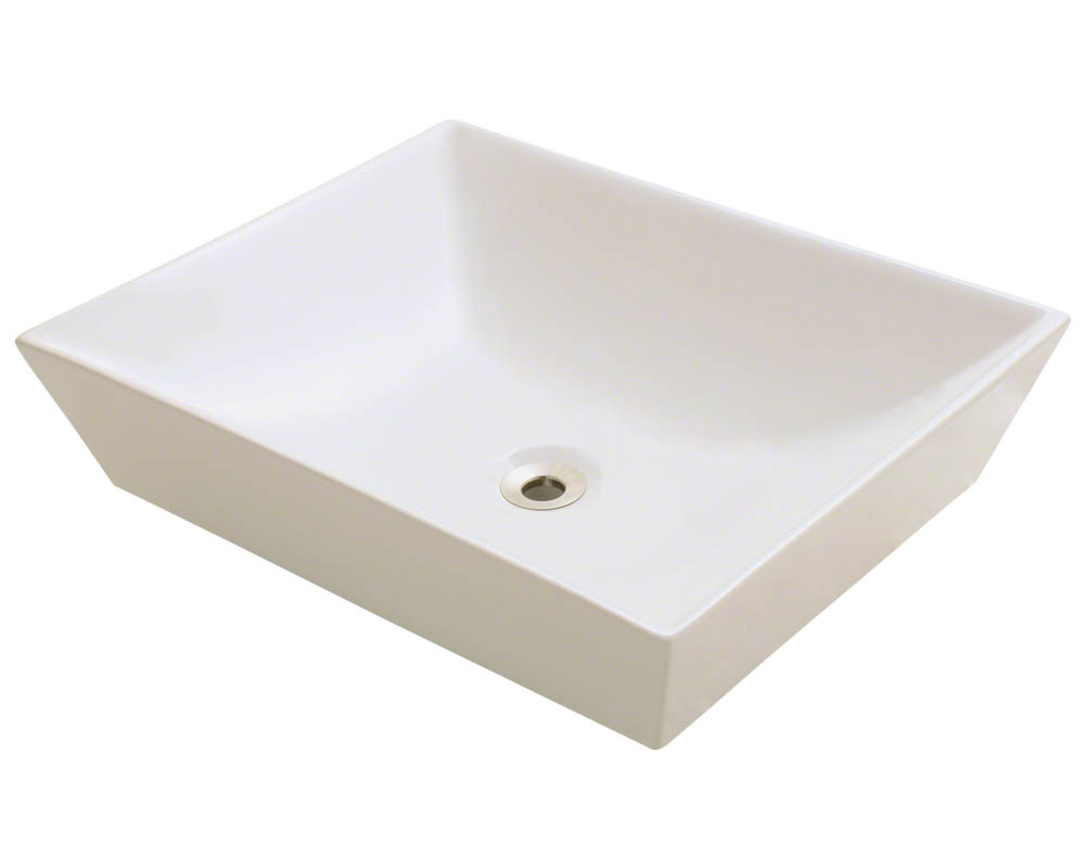 Polaris P073V-b Bisque Porcelain Vessel Sink