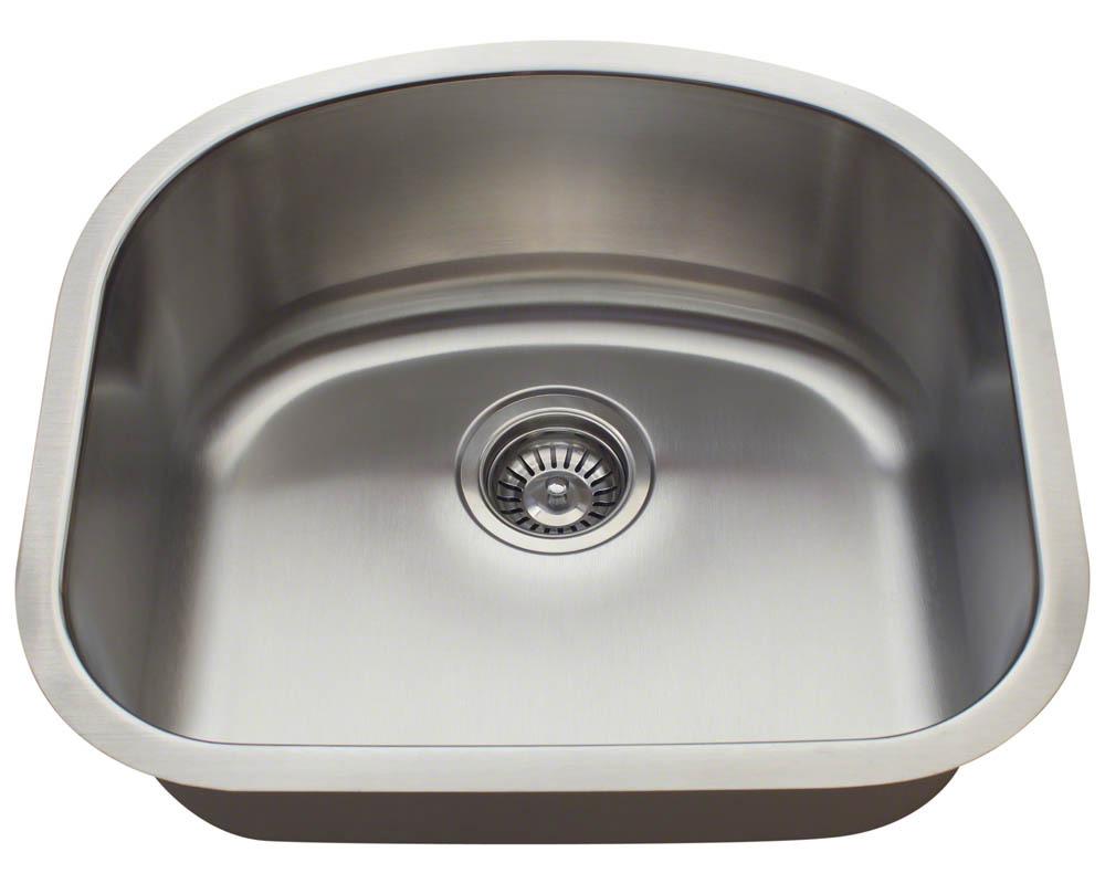 Polaris P812-18 Single Bowl Stainless Steel Sink