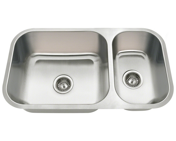 Polaris PB8123 Undermount Stainless Steel Kitchen Sink