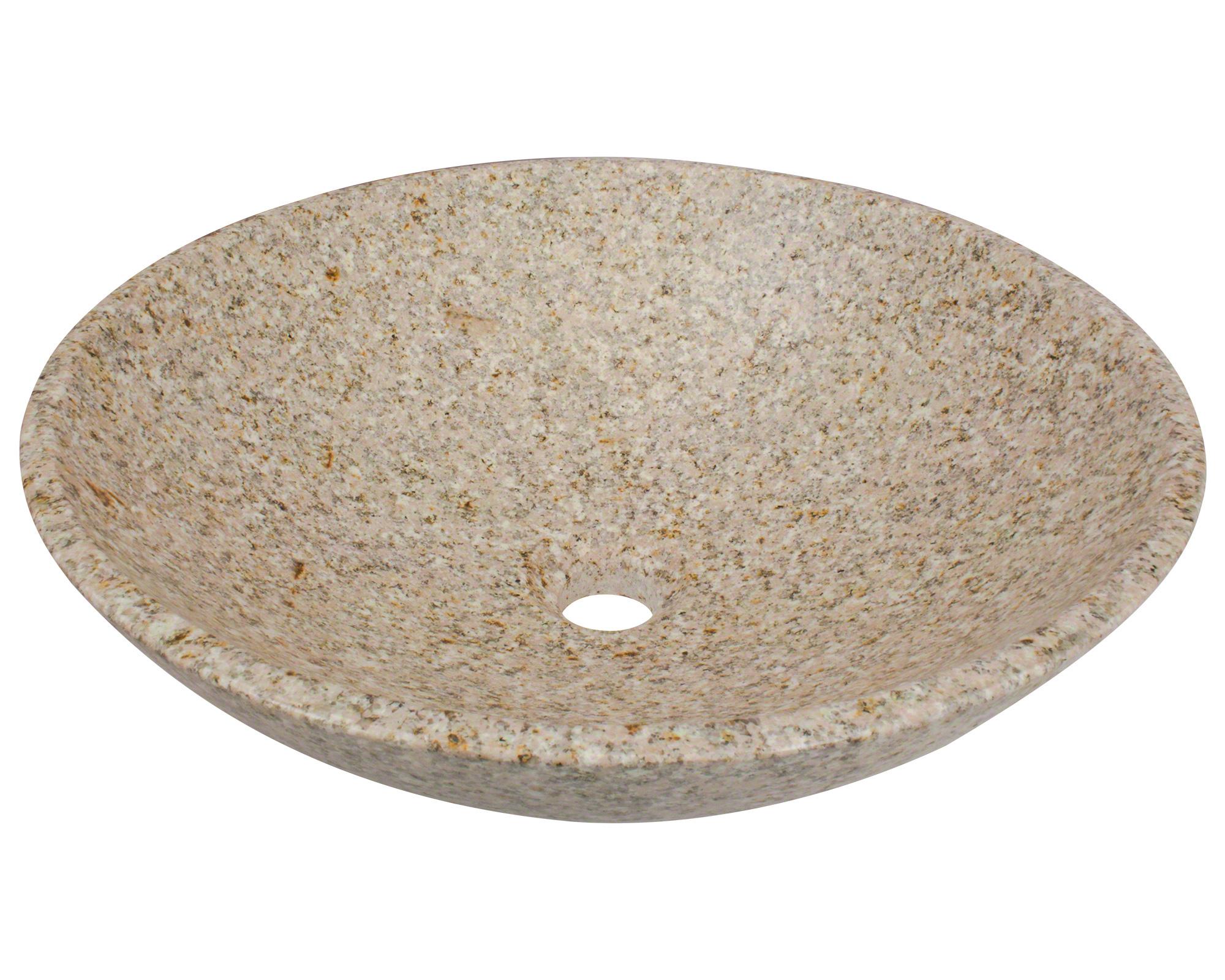 Polaris P058T Tan Granite Vessel Sink